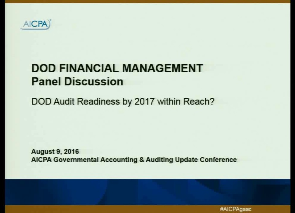 Is DOD Audit Readiness by 2017 Within Reach?